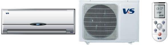 VSH09B4/EZ DIY Wall Air Conditioning Unit (2.6 kW / 9000 Btu) self install / diy air conditioning